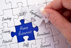 Human Resources Puzzel Pieces